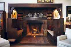 50+ most amazing rustic fireplace designs ever (23)