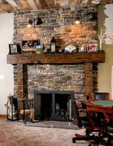 50+ most amazing rustic fireplace designs ever (29)