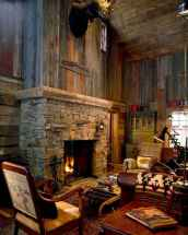 50+ most amazing rustic fireplace designs ever (44)