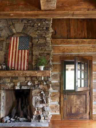 50+ most amazing rustic fireplace designs ever (55)
