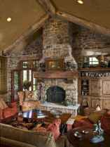 50+ most amazing rustic fireplace designs ever (7)
