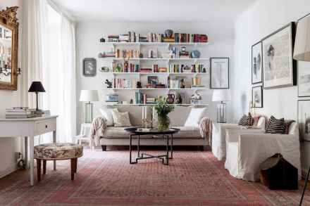 50 super scandinavian ideas for your home library (12)