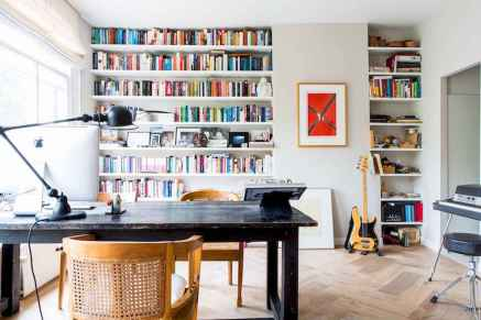 50 super scandinavian ideas for your home library (37)