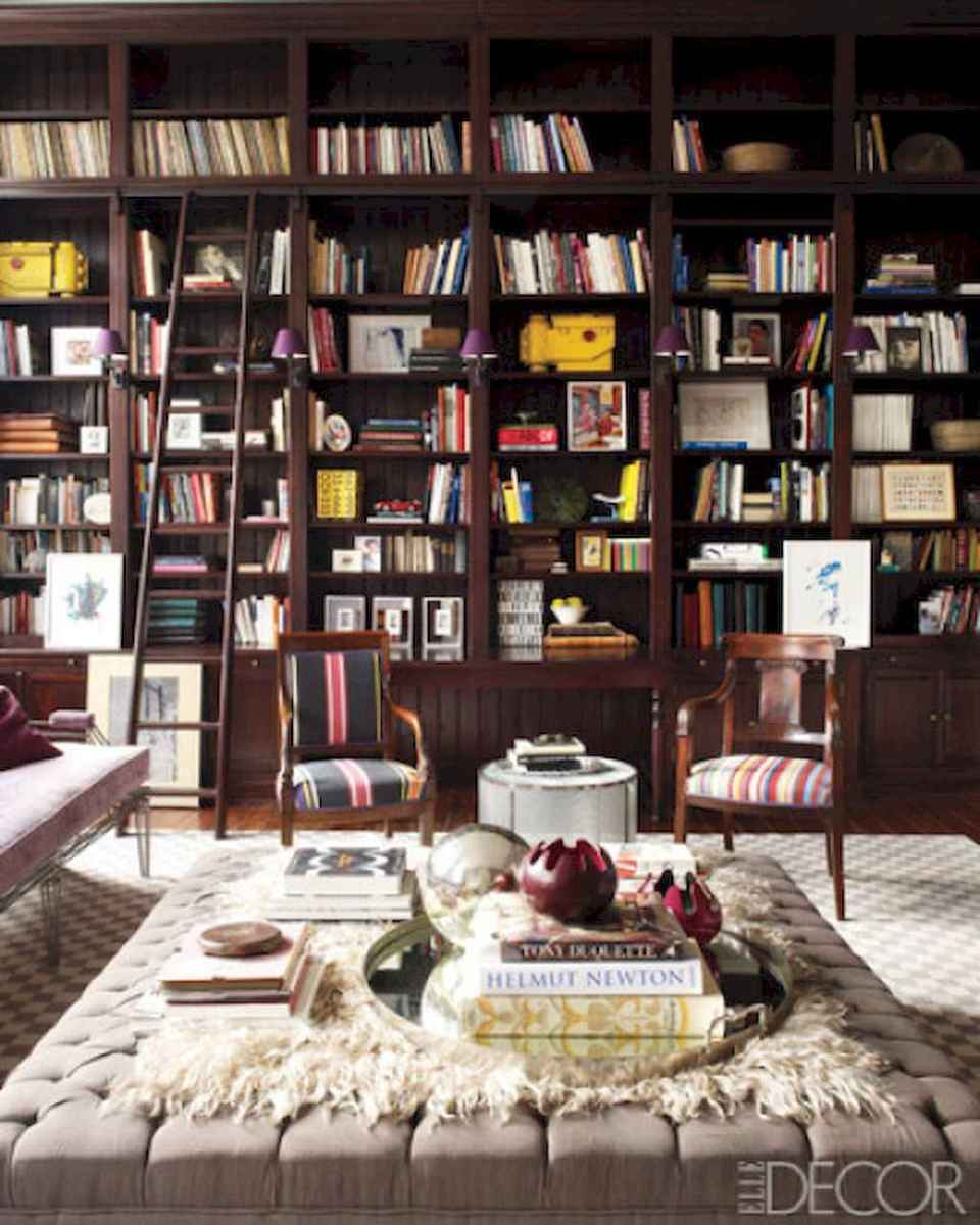 60 amazing eclectic design ideas for your library room (15)
