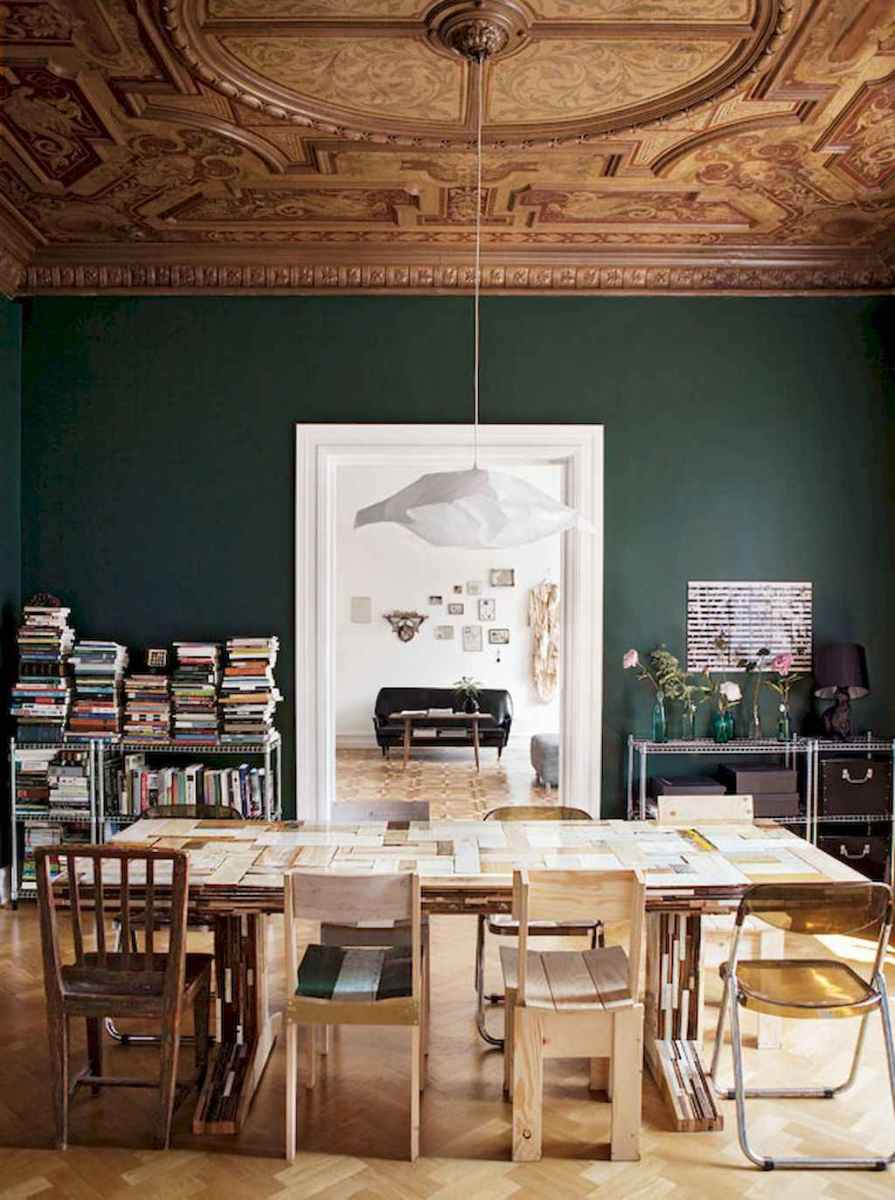 60 amazing eclectic design ideas for your library room (17)