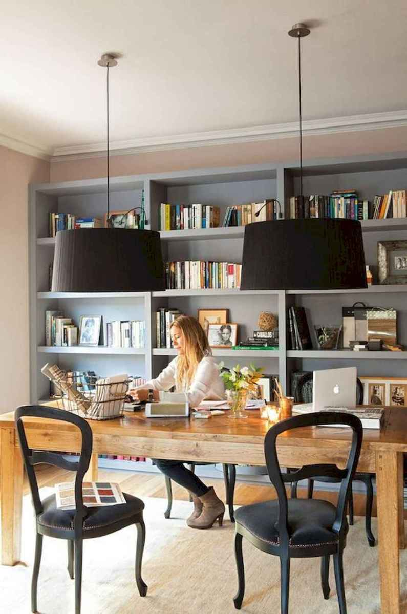 60 amazing eclectic design ideas for your library room (33)