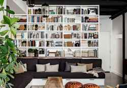 60 amazing eclectic design ideas for your library room (38)