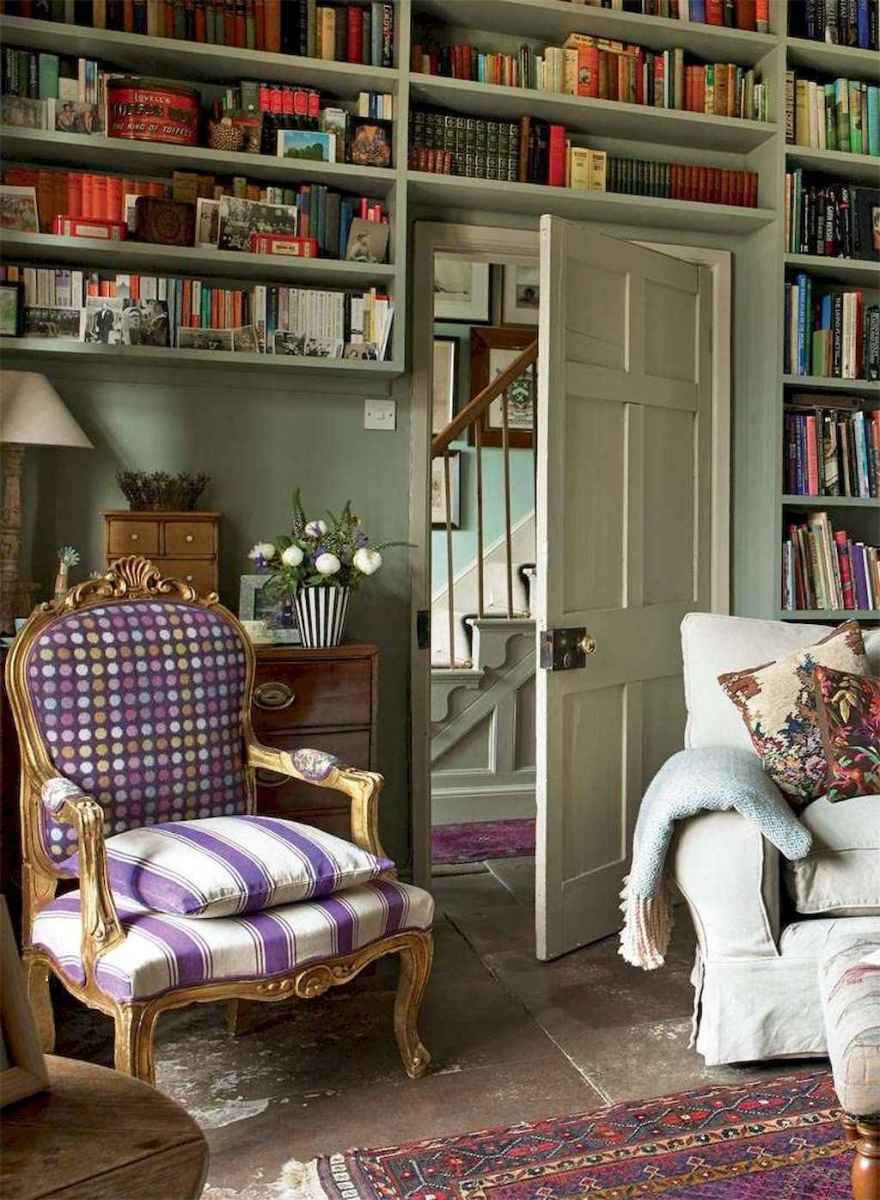 60 amazing eclectic design ideas for your library room (4)
