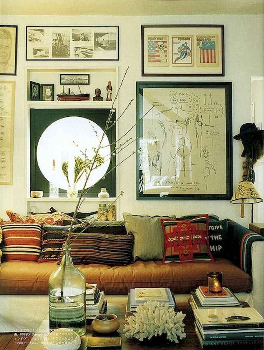 60 amazing eclectic design ideas for your library room (45)