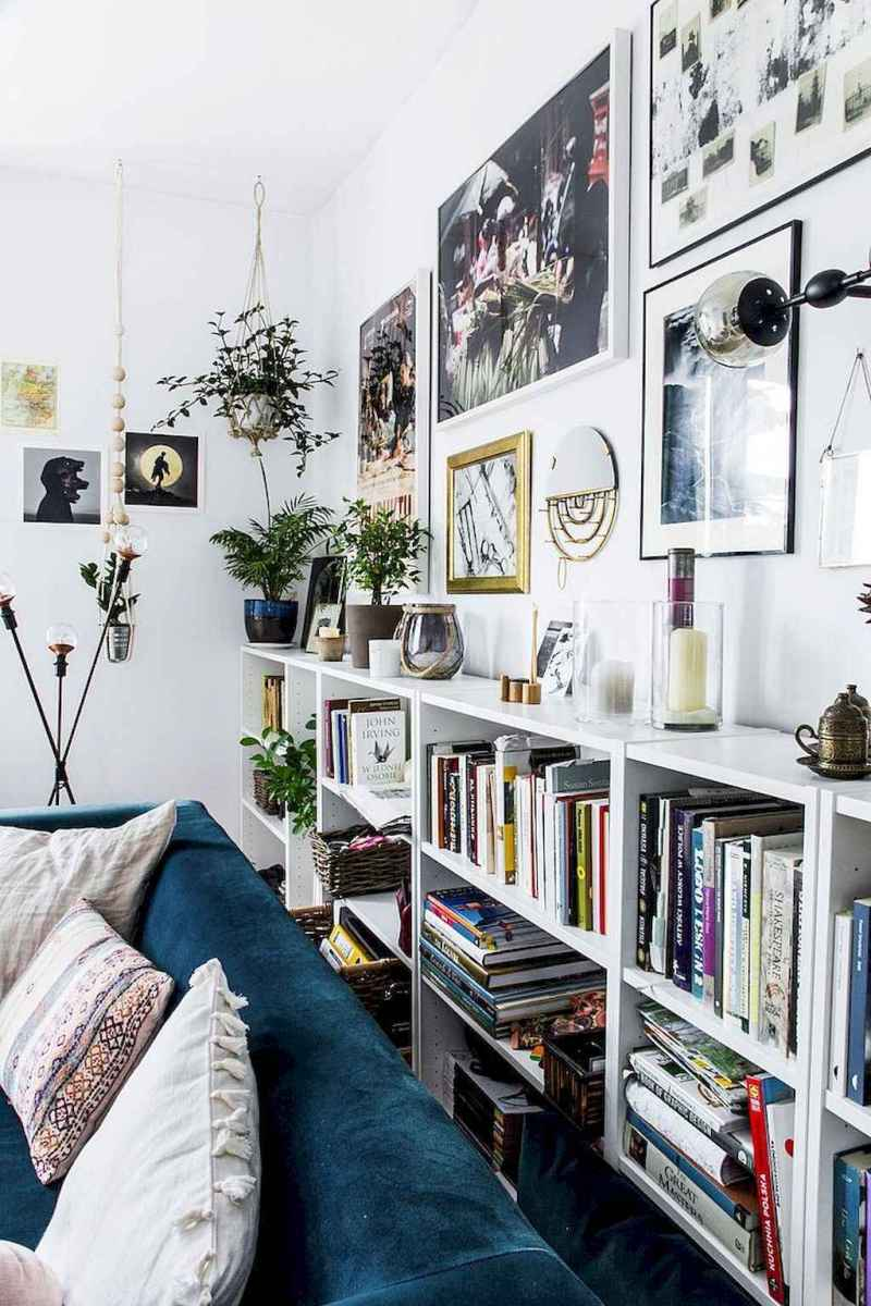 60 amazing eclectic design ideas for your library room (47)