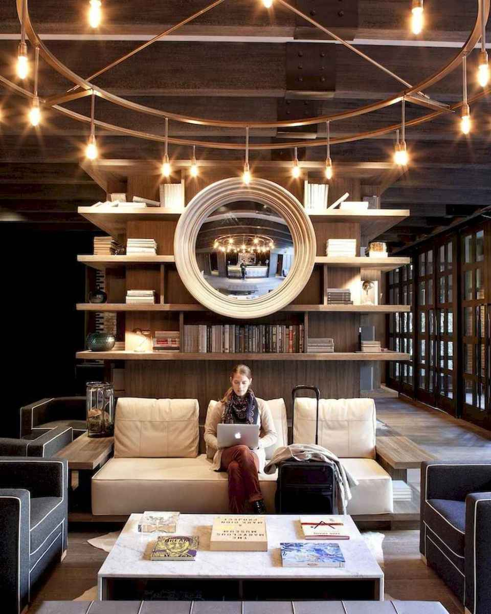 60 amazing eclectic design ideas for your library room (48)