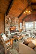 60 beautiful eclectic fireplace decor (1)