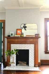 60 beautiful eclectic fireplace decor (16)