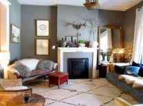 60 beautiful eclectic fireplace decor (18)