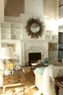 60 beautiful eclectic fireplace decor (19)
