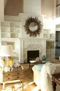 60 beautiful eclectic fireplace decor (19)