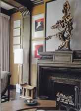 60 beautiful eclectic fireplace decor (3)