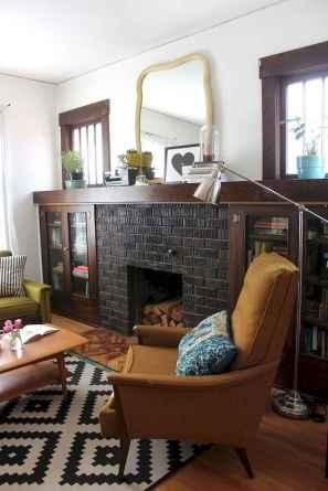60 beautiful eclectic fireplace decor (35)