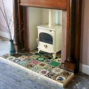 60 beautiful eclectic fireplace decor (38)