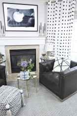 60 beautiful eclectic fireplace decor (52)