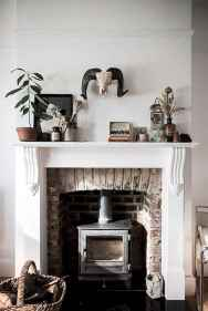 60 beautiful eclectic fireplace decor (7)