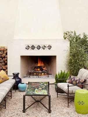 60 beautiful eclectic fireplace decor (9)