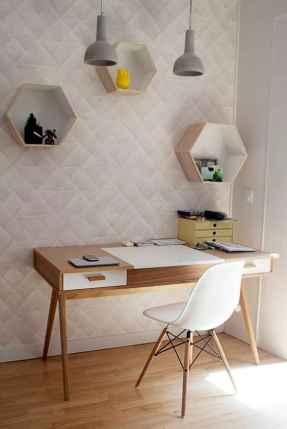 60+ beautiful and subtle home office scandinavian design ideas (46)