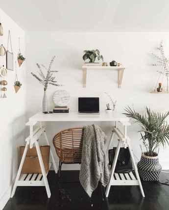 60+ beautiful and subtle home office scandinavian design ideas (47)