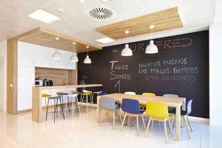 60+ beautiful and subtle home office scandinavian design ideas (48)