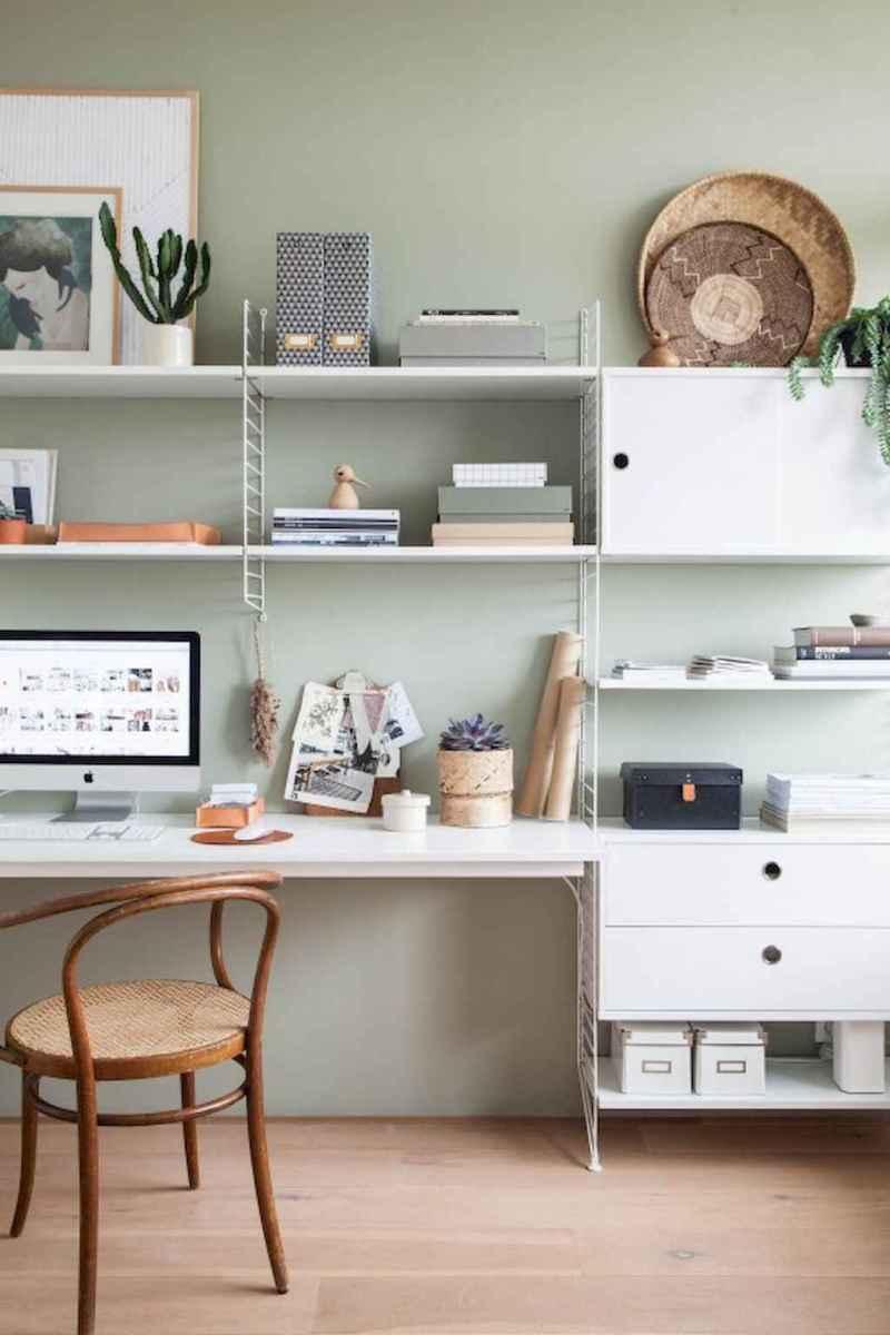 60+ beautiful and subtle home office scandinavian design ideas (57)