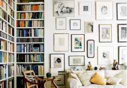 60 cool ideas vintage library at home (59)