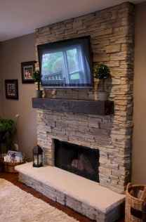 60+ cozy corner fireplace ideas for your home (47)