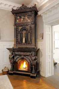 60+ cozy corner fireplace ideas for your home (7)