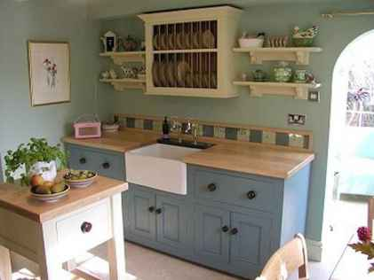 60 decorating kitchen with english country style (20)