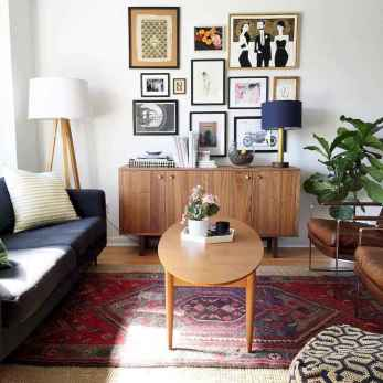 60 modern eclectic living room decorating ideas (12)