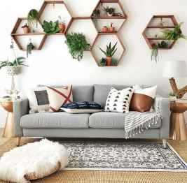 60 modern eclectic living room decorating ideas (23)