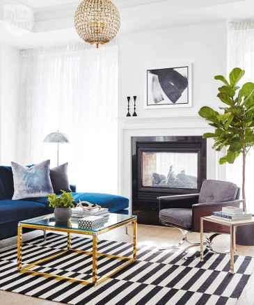 60 modern eclectic living room decorating ideas (25)