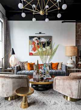 60 modern eclectic living room decorating ideas (38)
