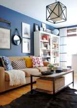 60 modern eclectic living room decorating ideas (40)