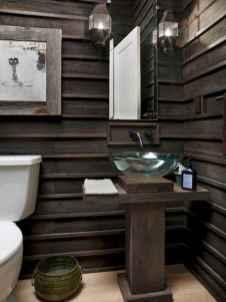 60+ pretty powder rooms with rustic design (19)