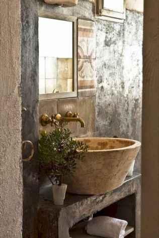 60+ pretty powder rooms with rustic design (26)