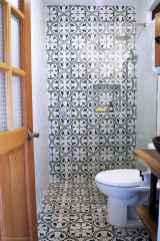 60+ pretty powder rooms with rustic design (53)