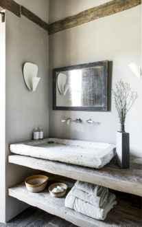 60+ pretty powder rooms with rustic design (6)