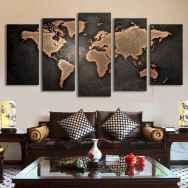 60+ vintage living room decor (56)