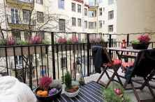 72 smart balcony designs with scandinavian ideas (13)