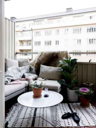 72 smart balcony designs with scandinavian ideas (16)