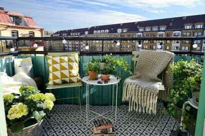 72 smart balcony designs with scandinavian ideas (17)
