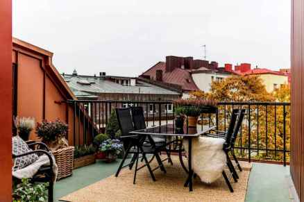 72 smart balcony designs with scandinavian ideas (3)