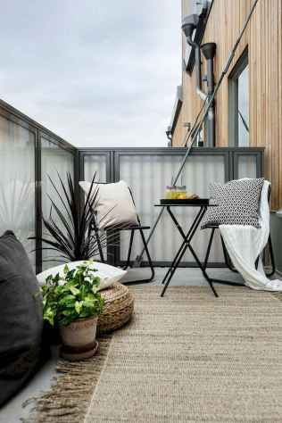 72 smart balcony designs with scandinavian ideas (32)