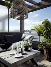 72 smart balcony designs with scandinavian ideas (39)
